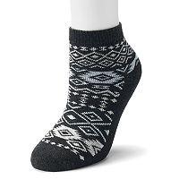 Women's SONOMA Goods for Life™ Fairisle Boot Socks