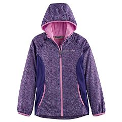 Girls 4-16 Free Country Lightweight Space-Dyed Softshell Jacket