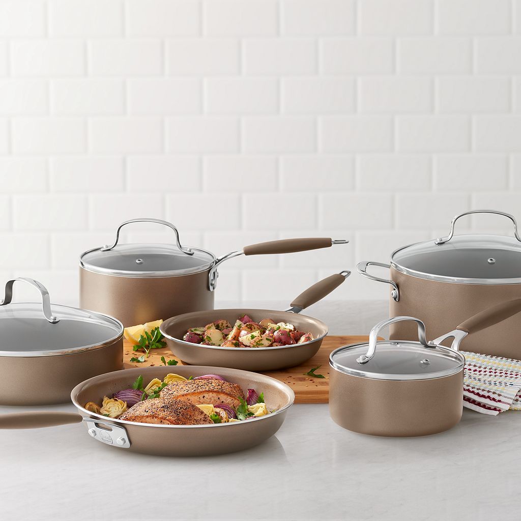 Food Network™ 10-pc. Ceramic Cookware Set
