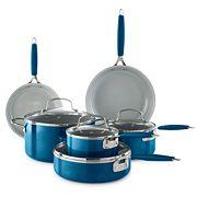 Food Network™ 10 pc Ceramic Cookware Set