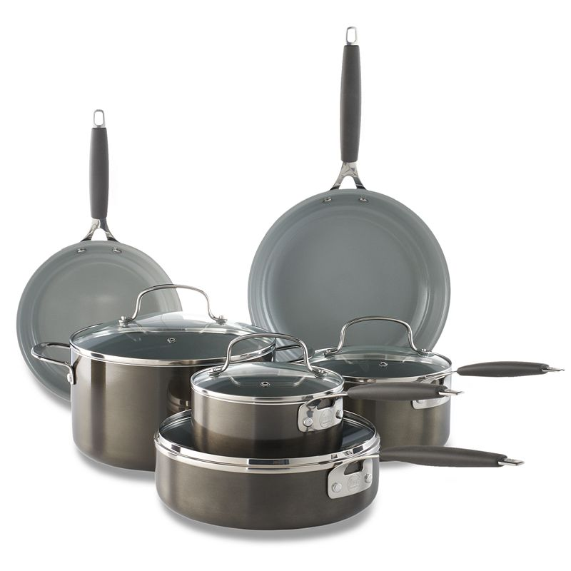 Food Network™ 10-pc. Ceramic Cookware Set, Grey