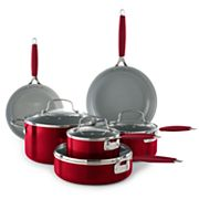 Food Network™ 10 pc Ceramic Cookware Set
