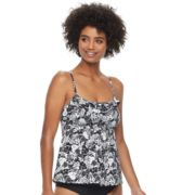 Women's A Shore Fit Tummy Slimmer Empire Tankini Top