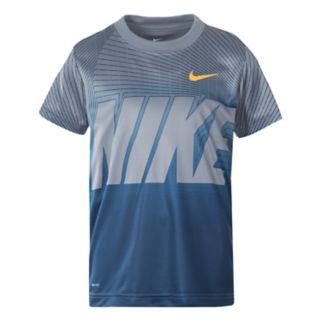 Boys 4-7 Nike Staggered Line Logo Graphic Tee
