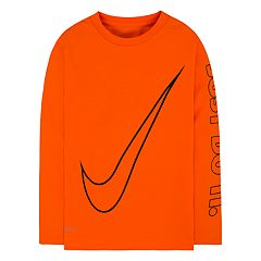 Boys 4-7 Nike Swoosh 'Just Do It' Long Sleeve Tee