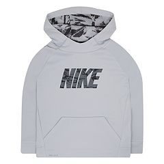 Boys 4-7 Nike Therma Abstract Logo Pullover Hoodie