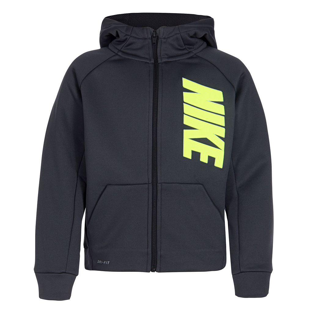 Boys 4-7 Nike Fleece Zip Hoodie