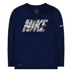 Boys 4-7 Nike Dri-FIT Mesh Paneled Graphic Tee