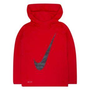 Boys 4-7 Nike Vertical Logo Hoodie