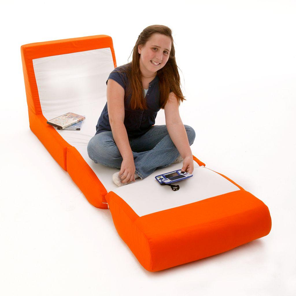Fun Furnishings Orange Sleeper Chair - Teen
