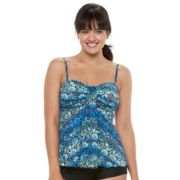 Women's A Shore Fit Tummy Slimmer Bandeaukini Top