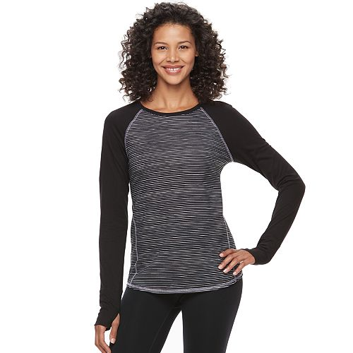 Women's Tek Gear® Raglan Long Sleeve Tee