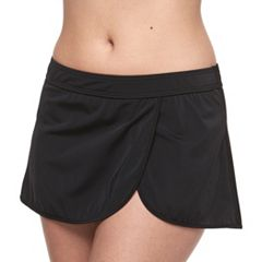 Women's A Shore Fit Hip Minimizer Wrap Skirtini Bottoms