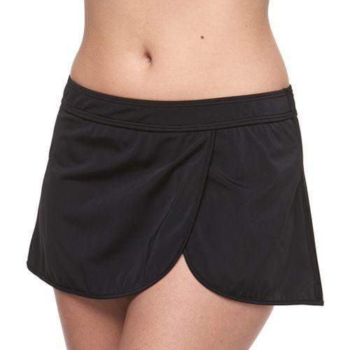 Women's A Shore Fit Hip Minimizer Wrap Skirtini Bottoms