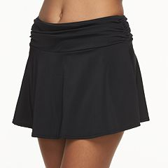 Women's A Shore Fit Hip Minimizer Cover-Up Swim Skirt