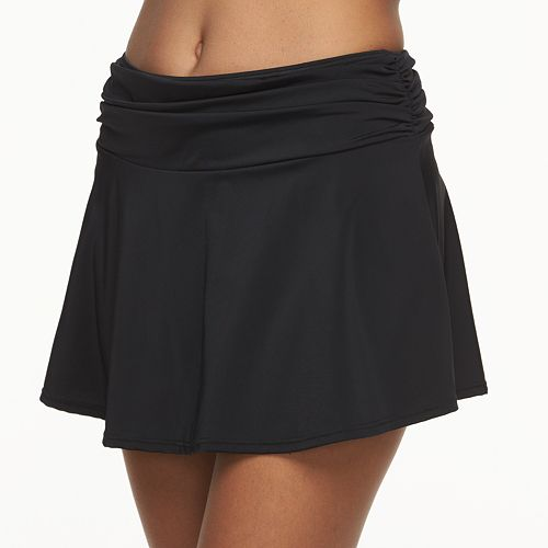 Women's A Shore Fit Hip Minimizer Cover-Up Swim Skirt