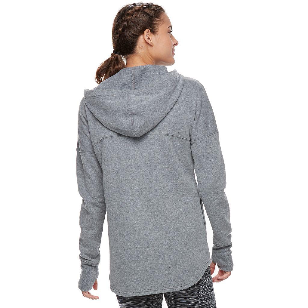 Women's Tek Gear® Fleece Asymmetrical Zip Jacket