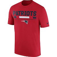 Men's Nike New England Patriots Legend Staff Tee