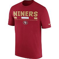Men's Nike San Francisco 49ers Legend Staff Tee