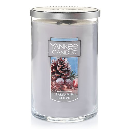 Yankee Candle Balsam & Clove Tall 22-oz. Candle Jar