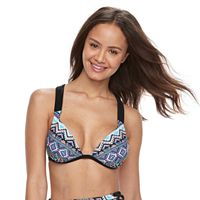 Mix and Match Mosaic Push-Up Bikini Top