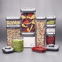 OXO Steel 10 pc Pop Container Set