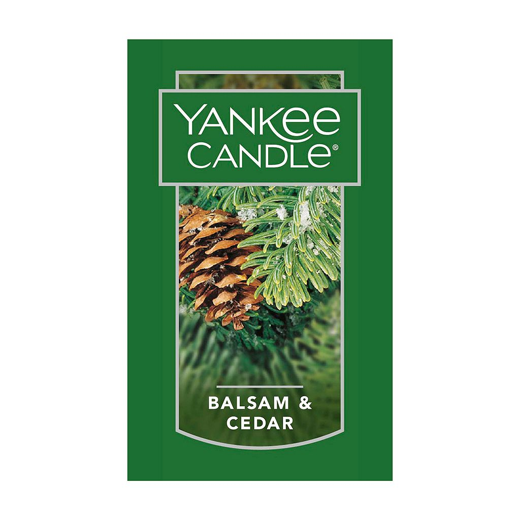 Yankee Candle Balsam & Cedar 7-oz. Candle Jar