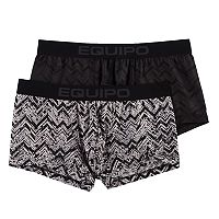 Men's equipo 2-pack Chevron Performance Stretch Brazilian Trunks