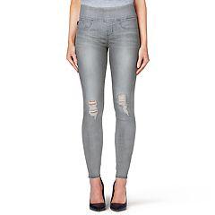 Women's Rock & Republic® Fever Denim Rx™ Midrise Pull-On Jean Leggings