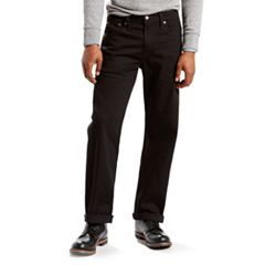 a48b73c19f3 Men's Levi's® 569™ Stretch Loose-Fit Straight-Leg Jeans. Black Crosstown