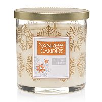 Yankee Candle Christmas Cookie Snowflake 7-oz. Candle Jar