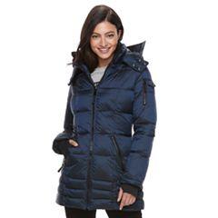 Women's Apt. 9® Hooded Puffer Jacket
