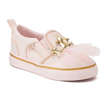 Vans Asher Princess Toddler Girl's Slip On Shoes