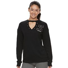 Juniors' Her Universe Star Wars 'Rule the Galaxy' Cutout Sweatshirt