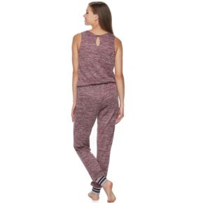 Juniors' Sleep Riot Pajamas: Sweater-Knit Jumpsuit