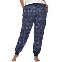 Juniors' Plus Size Sleep Riot Pajamas: Dreamy Fleece Jogger Pants