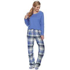 Women's SONOMA Goods for Life™ Pajamas: Top, Pants & Socks 3 pc PJ Set