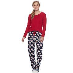 Women's SONOMA Goods for Life™ Pajamas: Top, Pants & Socks 3-Piece PJ Set