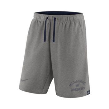 Men's Nike Milwaukee Brewers Flux Shorts