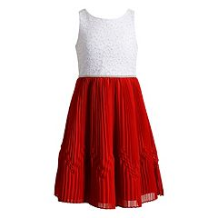 Girls 7-16 Emily West Lace & Chiffon Dress
