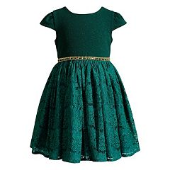 Girls 7-16 Emily West Sparkle Lace Dress