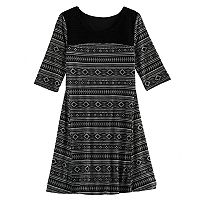 Girls 7-16 & Plus Size Mudd® Crochet Yoke Dress