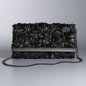 Simply Vera Vera Wang 10th Anniversary Floral Flap Clutch