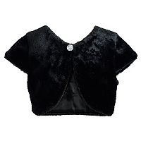 Girls 7-16 Emily West Faux Fur Shrug