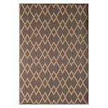 Natco Santorini Chevron Diamonds Geometric Indoor Outdoor Rug