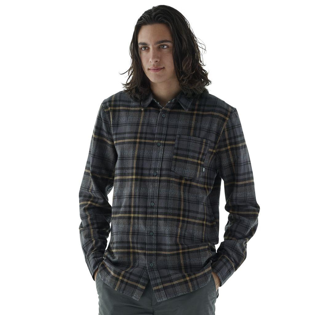 Men's Vans Madder Plaid Button-Down Shirt