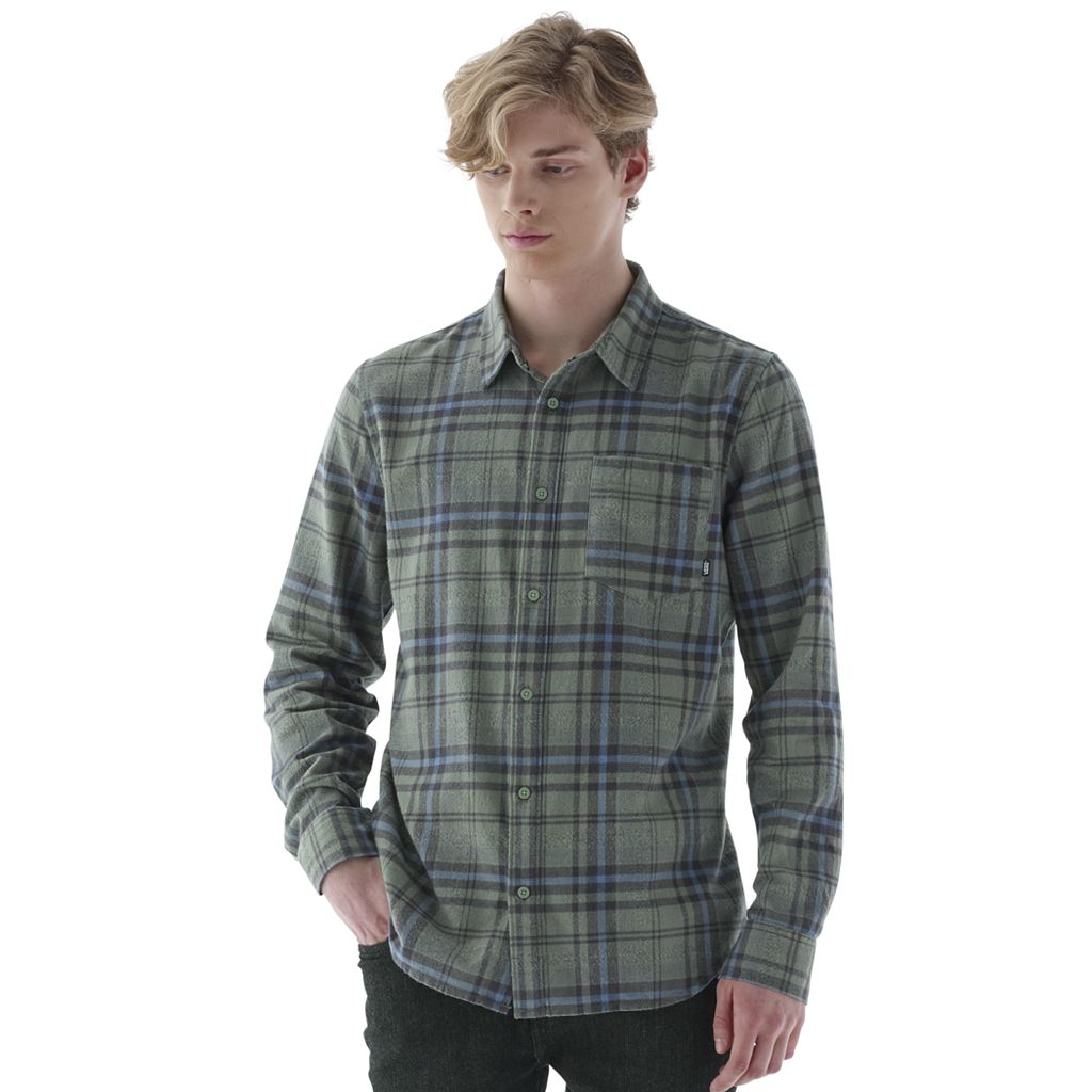 Men's Vans Madder Plaid Button-Down Shirt
