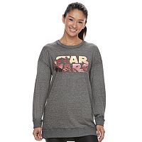 Juniors' Her Universe Star Wars Graphic Tunic Sweatshirt