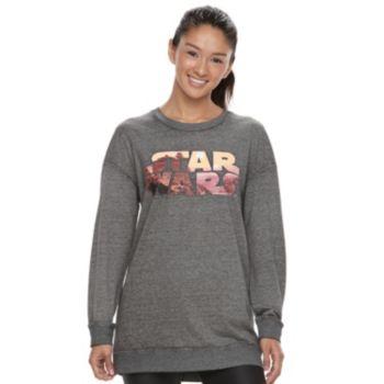 Juniors' Her Universe Star Wars Graphic Tunic Sweatshirt