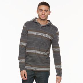 Men's Vans Textured-Stripe Hooded Tee
